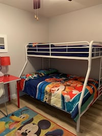 Bunk bed with mattresses full size and twin Fullerton, 92832