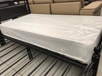 "Brand new 8"" spring smooth top mattress on sale  548 km"