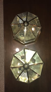Octagon shaped light fixtures Alexandria, 22312