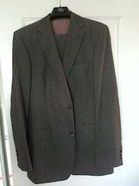 Hugo boss grey two button suit
