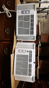 Two 5k Btu air-conditioners