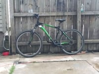 green and black hardtail mountain bike Chicago, 60632