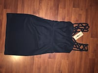 Strappy body hugging dress. Size S and brand new