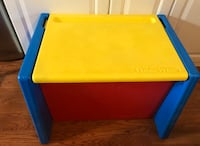 Fisher price toy box school desk combo Lutz, 33559