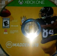 Xbox One Madden 19 game disc Frederick, 21702