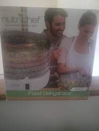 Nutrichef Food Dehydrator ...used 2x. GREAT condition
