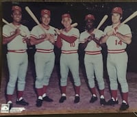 Cincinnati Reds 1970's Stars 8x10 Photo Lebanon