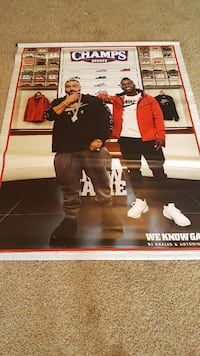 """7 1/2"""" by 5"""" poster College Station, 77845"""