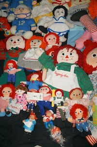 VINTAGE RAGGEDY ANN AND ANDY DOLLS Winter Springs
