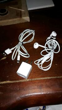 Lightning Connector Headphones/Charger and Power Brick Easton