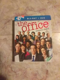 The Office Season Eight Blu-Ray DVD case Chillicothe