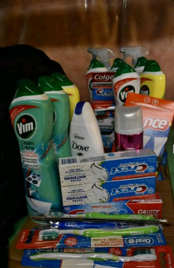 assorted-brand household cleaning product lot
