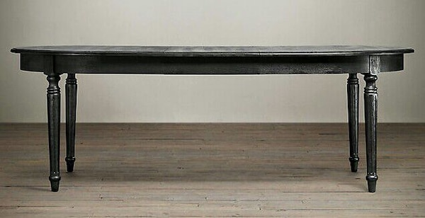 RH Vintage French Fluted Leg Extension Dining Tab