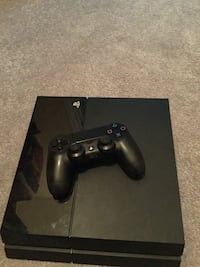 black Sony PS4 console with controller Brampton