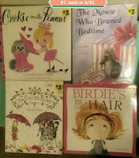 Children's Books $1.  or 6 for $5.