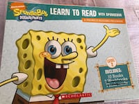 Learn to Read with Spongebob (A Phonics Reading Program)-10 Books  Mississauga, L5E 1X9