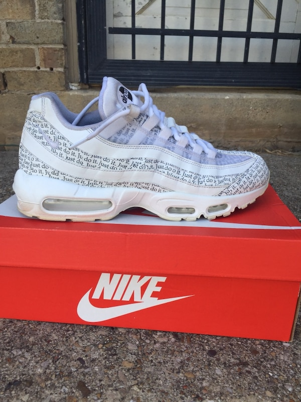 separation shoes 696d8 53aa1 Air Max 95 se white just do it