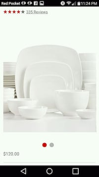 New 6 person dinner set 2393 mi