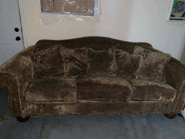 Brown Lazy Boy Couch