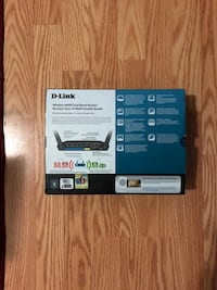 D-Link Wireless N600 Dual Band Router Markham, L6G 1E1