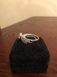 silver-colored diamond ring Morristown, 37814
