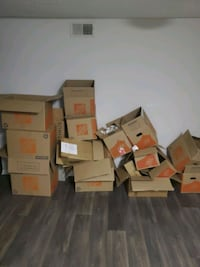 Empty Boxes (used once)