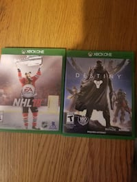 2 XBox One Video Games Edmonton, T5R 1X7