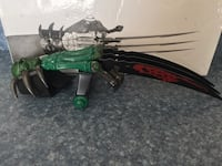 green and black compound bow Partlow, 22534
