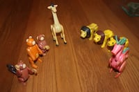 Vintage Fisher Price Animals FENTON