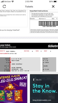 Jerry Seinfeld Tickets Davenport, 52801