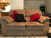Microfiber Couch and loveseat  Dallas, 75206