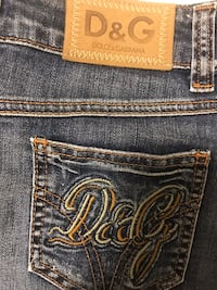 D&G Dolce and Gabbana denim mini skirt Kelowna, V1V 0A6