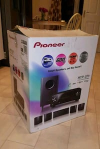 NEW IN BOX- PIONEER HTP-O71 SURROUND SOUND 5.1 SPEAKER SYSTEM