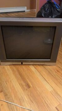 black and gray CRT TV Centereach, 11720