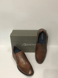 Bacca bucci casual shoes slip on Italian leather