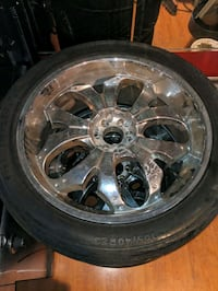 """23"""" 6 Lug Dodge / Chevy / Toyota Rims Clearwater, 33760"""