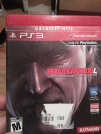 Ps3 metal gear Toronto, M4W 1A9