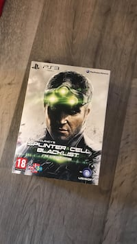 Splinter Cell Blacklisy PS3