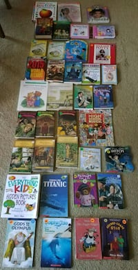 Children's Books - see pics for prices Clinton, 01510