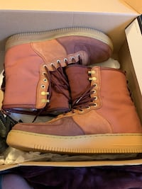 Nike Air Force ones premiums Size 13  Worn only once Hampton, 23669