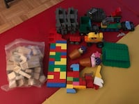 Assorted color plastic toy lot Toronto, M2J 4N2