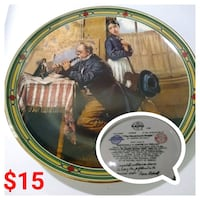 """Collectable Norman Rockwell 9"""" Plate Corpus Christi, 78415"""