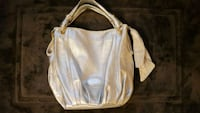 women's white leather shoulder bag Austin, 78749
