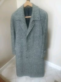 Vintage overcoat for the holiday chill!