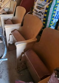 Antique 4 chair theatre seats Edmond, 73013