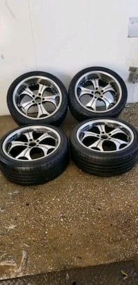4 19in 5x120  wheels rims and tires Potomac, 20854