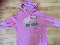 pink Roxy pullover hoodie