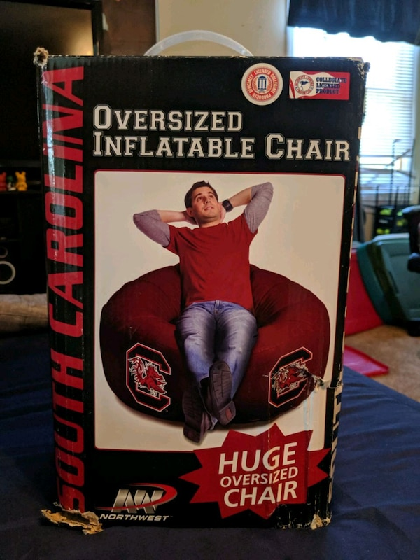 Phenomenal Oversized Inflatable Chair Usc Gamecocks Gamerscity Chair Design For Home Gamerscityorg
