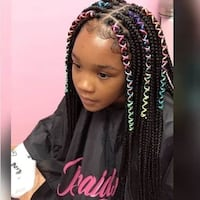 Hair styling BRAIDS Las Vegas