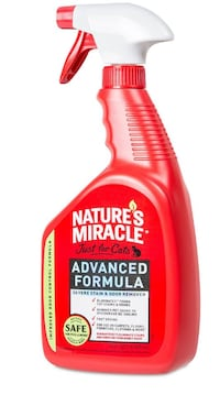 Nature's Miracle Just for Cats Stain and Odor Remover, 32 oz Mississauga